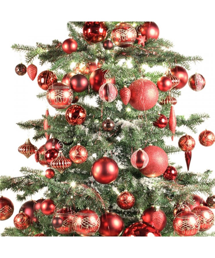 Luxury Tree Warm Bordeaux 180cm-876
