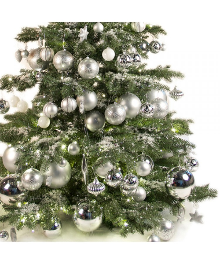 Luxury Tree Bright and Silver 240cm-988