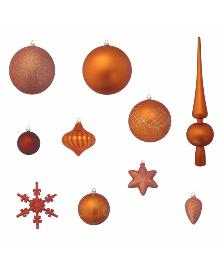 Luxury-Tree-Copper-240cm-Ornaments
