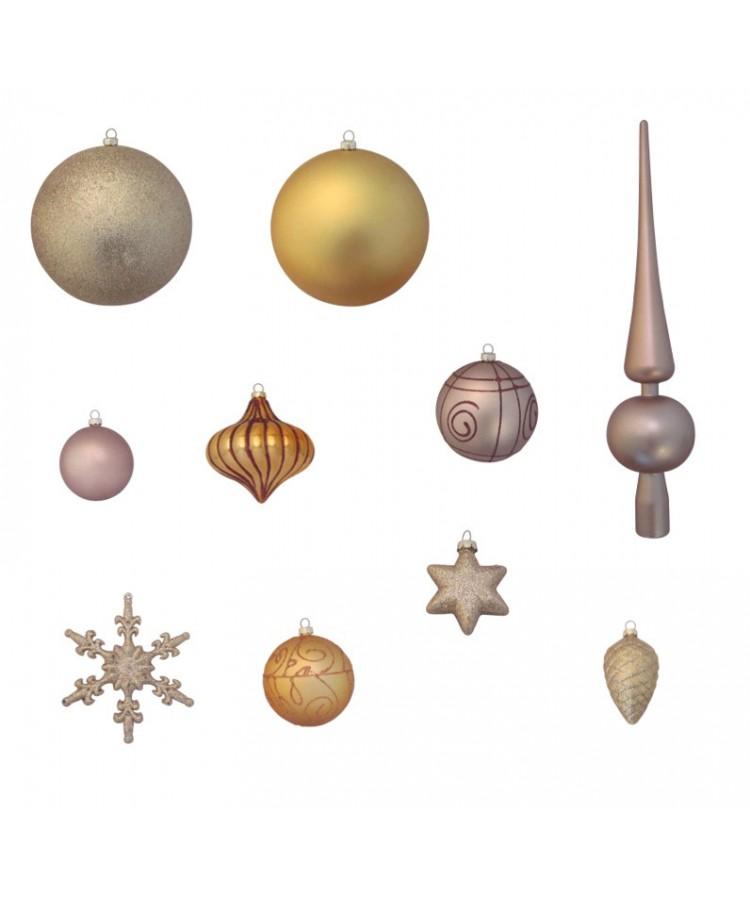 Luxury-Tree-Gold-210cm-Ornaments