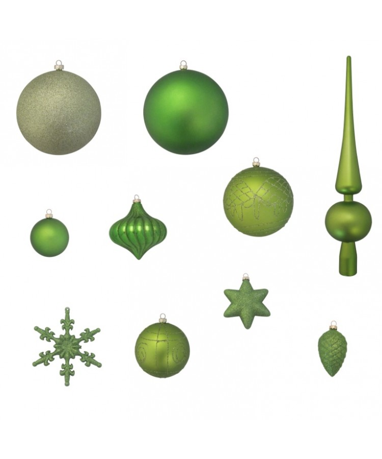 Luxury-Tree-Green-240cm-Ornaments