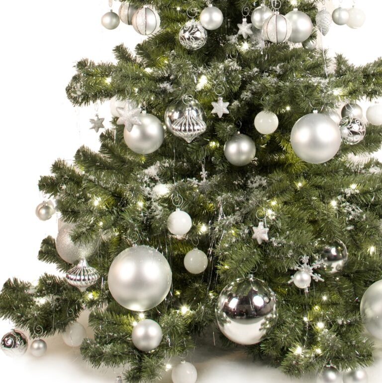 Basic Tree Bright and Silver 120cm-1688
