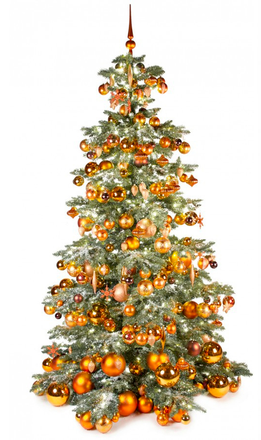 Basic Tree Warm Copper 240cm-1445