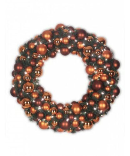 Luxury Wreath Warm Copper 2.5ft-0