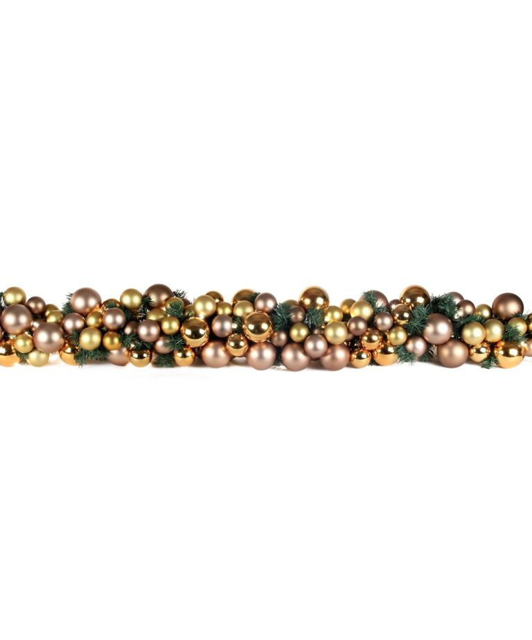 Luxury Garland Golden mocca 6.5ft-1508