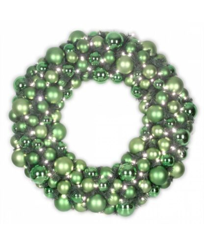 Luxury Wreath Refreshing green 2.5ft-0