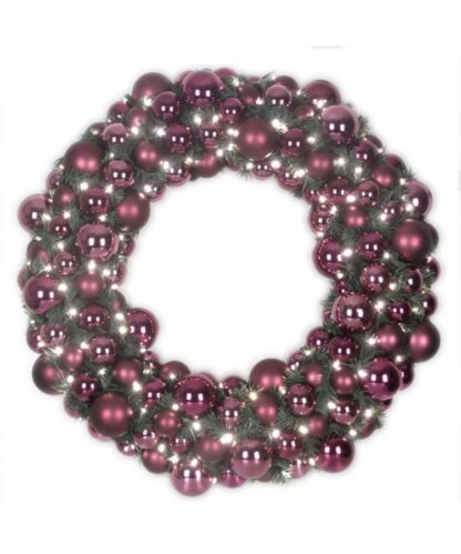 Luxury Wreath Warm Milka 75cm-0